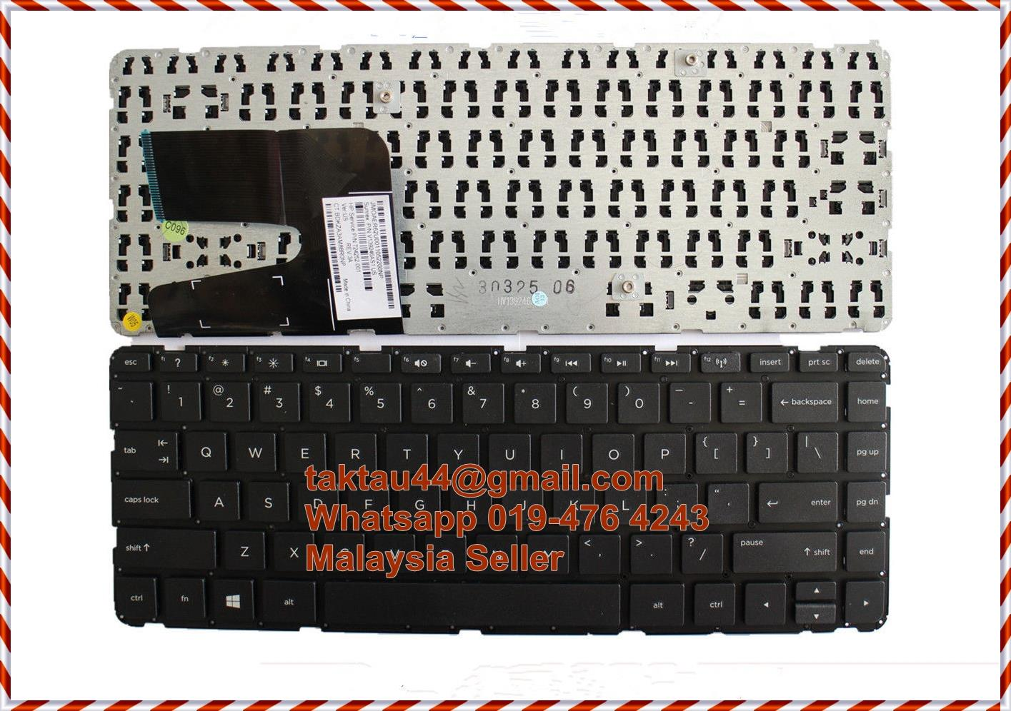 HP Laptop 248 G1 340 G1 345 G2 14-a 14-N 14-E 14-d G14-a000 keyboard