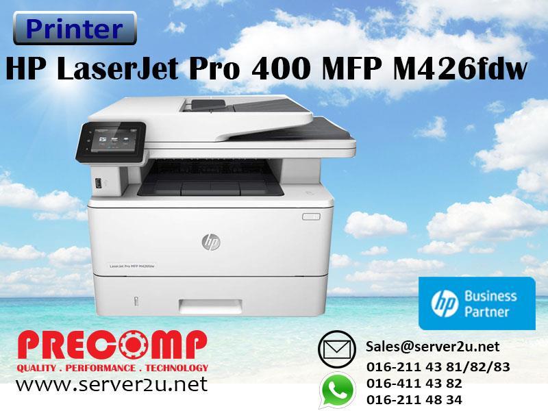 Hp Laserjet Pro 400 Mfp M426fdw Printer F6w15a