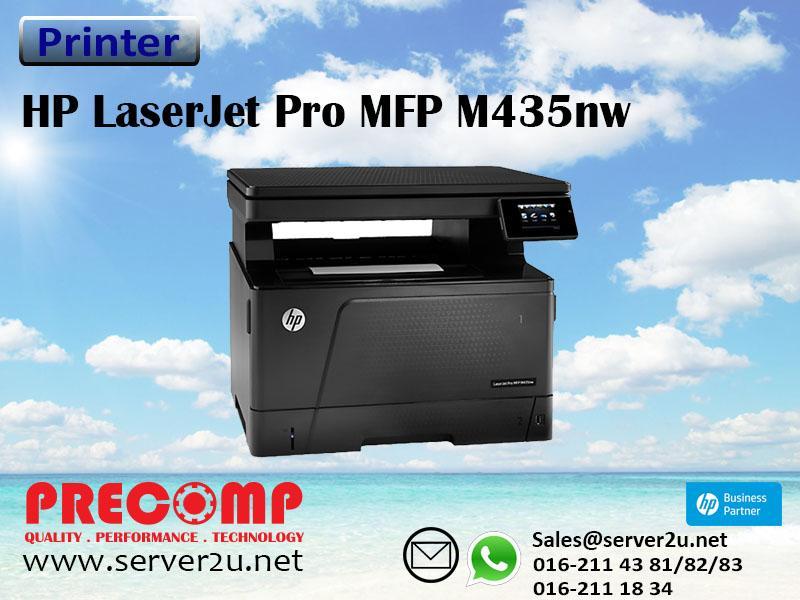 HP LASERJET PRO MFP M435NW PRINTER DESCARGAR DRIVER