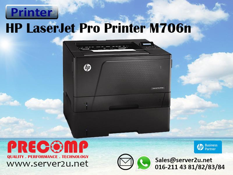 HP LaserJet Pro Printer M706n (B6S02A)
