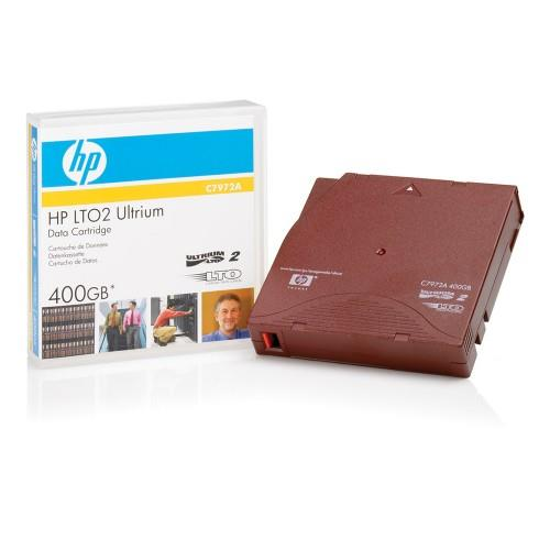 HP LTO-2 Ultrium 400GB RW Data Cartridge (C7972A)