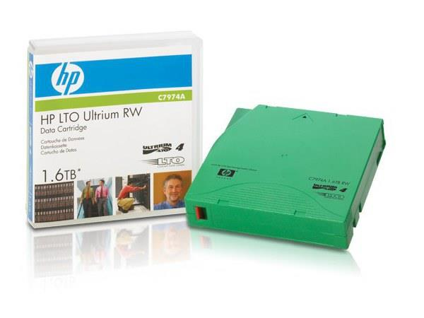 HP LTO-4 RFID RW Custom Labeled 20-Pack (C7974AF)