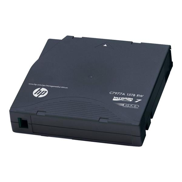 HP LTO-7 Ultrium Non Custom Label Data Cartridges (C7977AN)