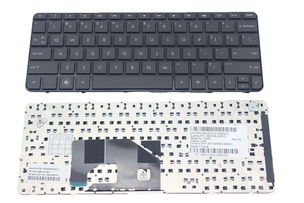 HP Mini 210-1000 210-1100 Keyboard 588115-001 594708-001 AENM6U00210