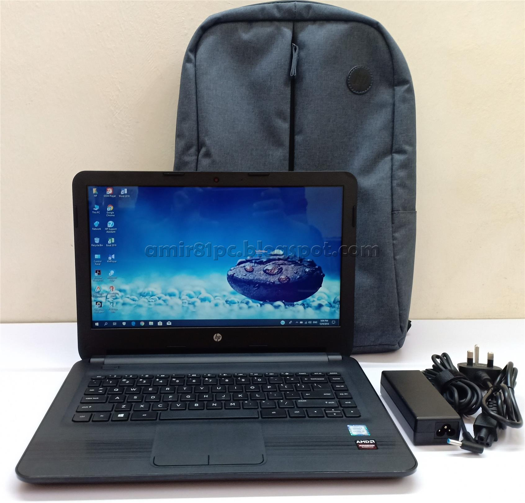 HP Notebook 14-am054TX 6th Gen Core i3 / 2GB Graphics Radeon R5 M330