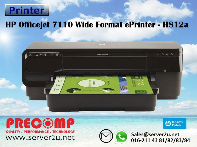 HP Officejet 7110 Wide Format ePrinter - H812a (CR768A)