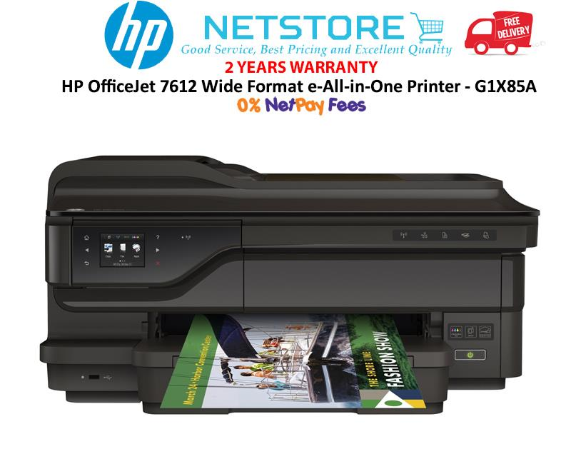 Best All In One Printer & Photo Printer Large Format 2020 HP OfficeJet 7612 Wide Format AIO e  (end 4/21/2020 5:15 PM)
