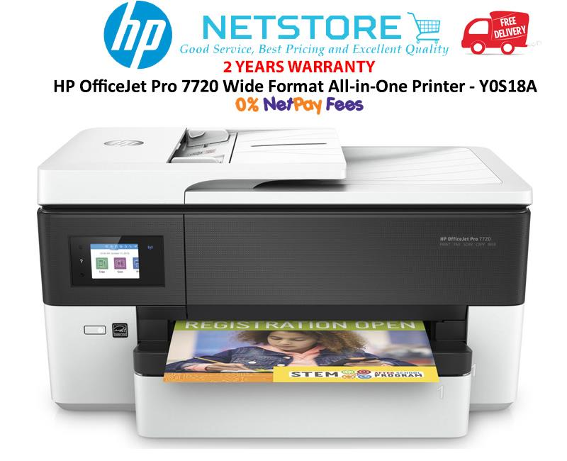 Best All In One Printer & Photo Printer Large Format 2020 HP OfficeJet Pro 7720 Wide Format AI (end 4/21/2020 8:15 PM)