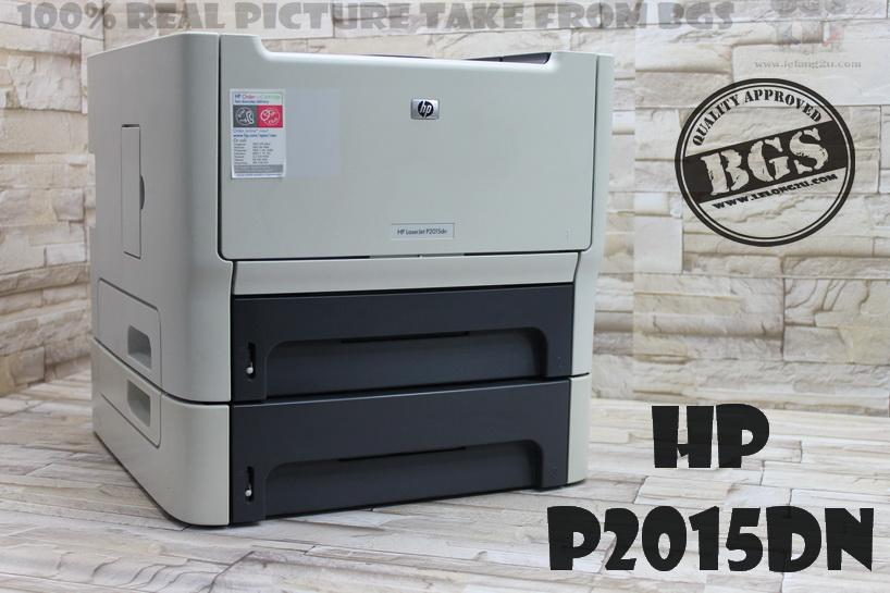 HP P2015DN LASER PRINTER WITH Q7553A TONER
