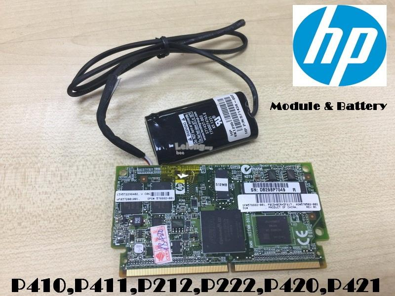 HP P410,P411 512MB Cache+Battery 571436-002,HP 4K1295,578882-001
