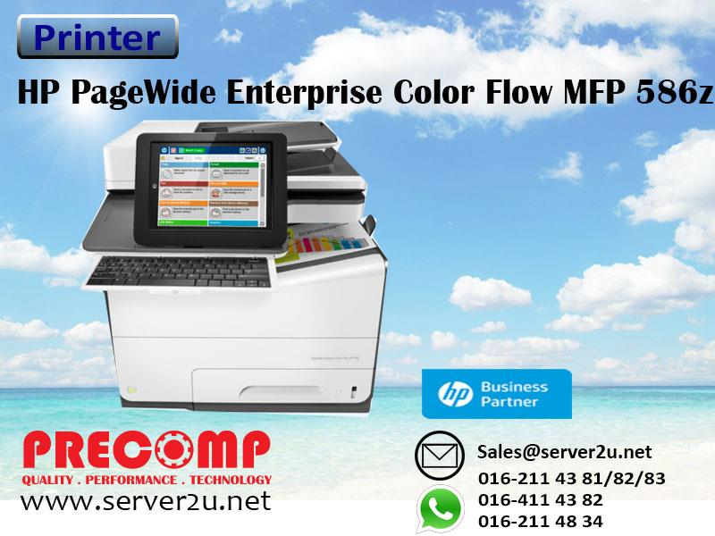 HP PageWide Enterprise Color Flow MFP 586z Printer (G1W41A)