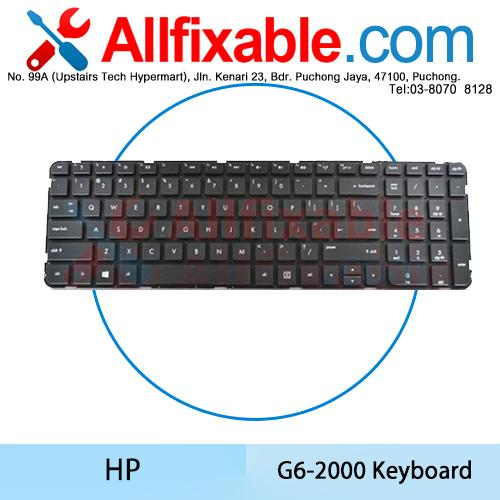 HP Pavilion G6-2000 G6-2100 G6-2200 G6-2300 Series Keyboard