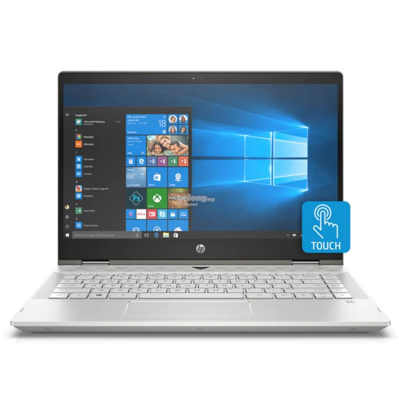 "HP Pavilion X360 14-Cd1009TX 14"" FHD Touch Laptop Gold"