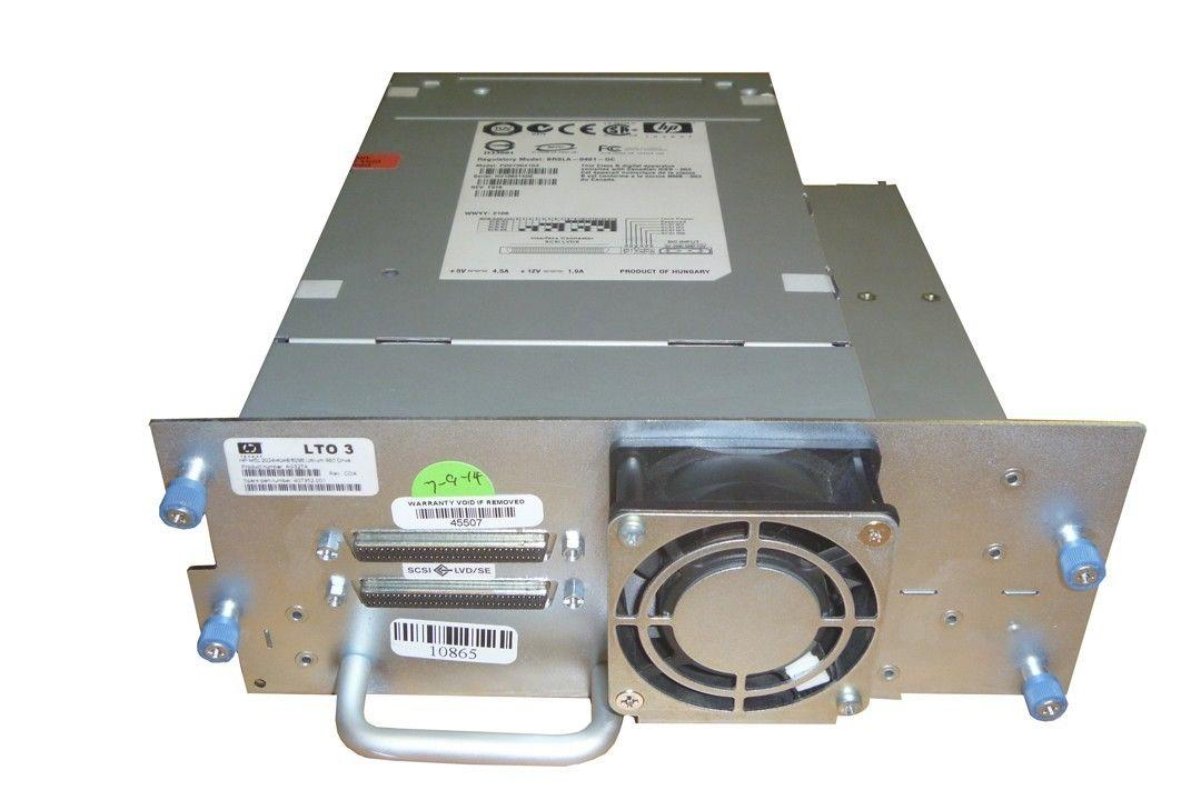 HP PD073K#103 AG327A 407352-001 LTO3 SCSI Tape Drive For MSL2024