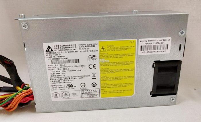 HP PROLIANT DL320E G8 V2 PSU 300W 726704-001 718785-001 711797-101