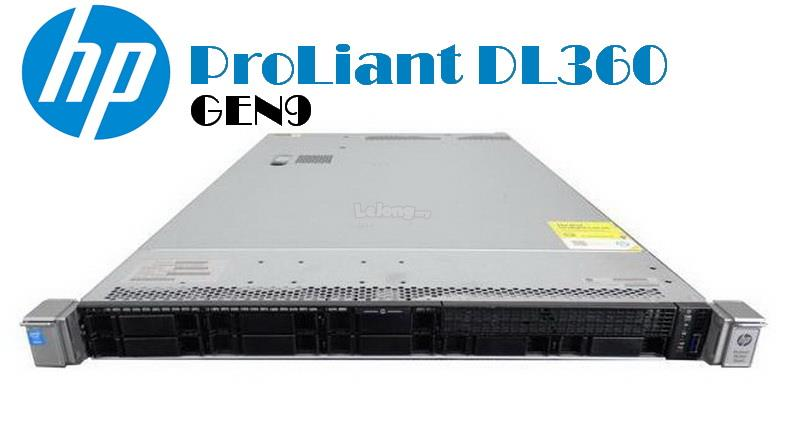 HP ProLiant DL360 G9 GEN9 Server E5-2603V3 8GB 500GB