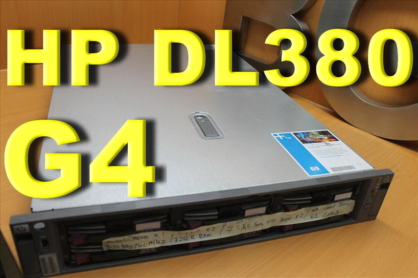 HP PROLIANT DL380 G4 SERVER  XEON 3.20GHZ