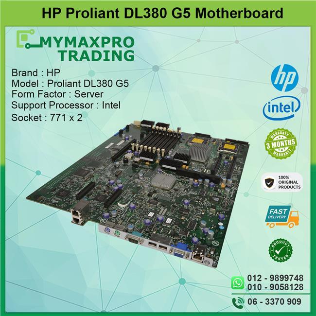Hp Proliant Dl380 G5 Motherboard Lg  End 7  27  2020 10 59 Am