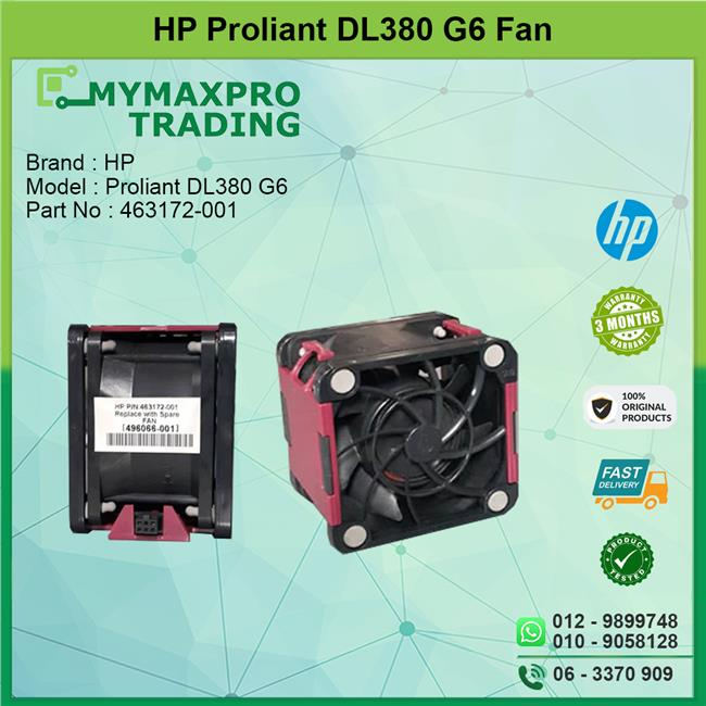 HP ProLiant DL380 G6 Hot Plug Cooling Fan 662520-001