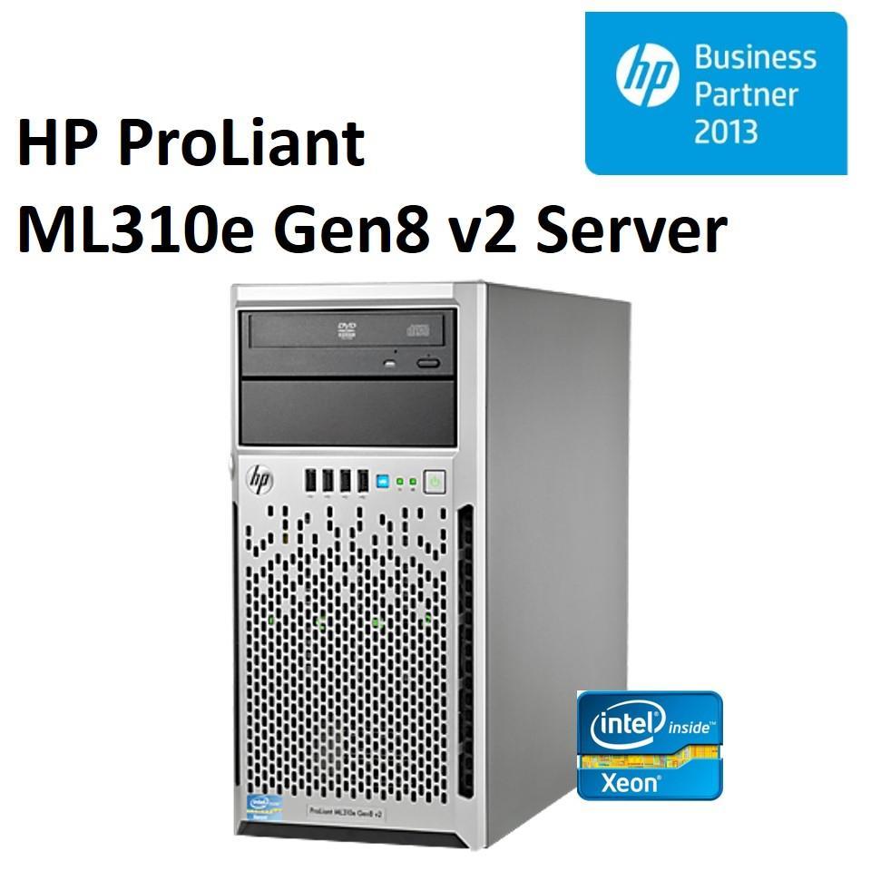 HP ProLiant ML310e Gen8 v2 Tower Server