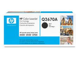 HP Q2670A (309A) Black Toner (Genuine) 3500 3500n 3550 3550n 3700 2670