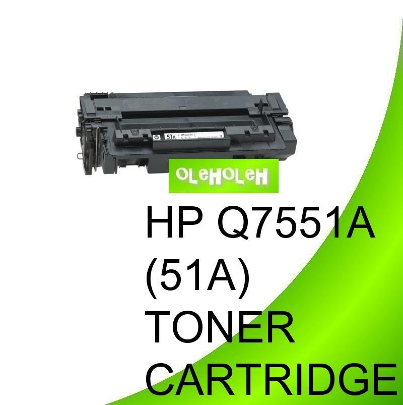 *HP Q7551A (51A) Compatible Toner Cartridge For MFP Series