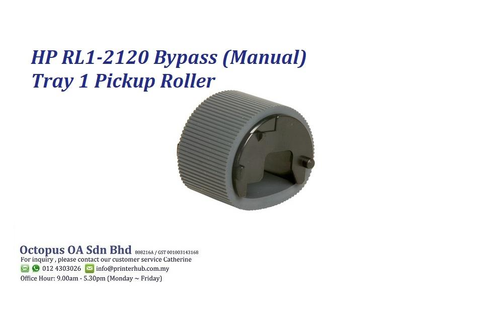 HP RL1-2120 Bypass (Manual) Tray 1 Pickup Roller
