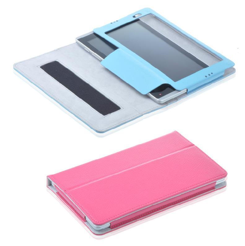 HP Slate 7 PU Leather Protective Flip Case Cover +Free SP + Stylus Pen