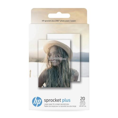 HP Sprocket Plus Photo Paper - 20 sticky-backed sheets (2LY73A)