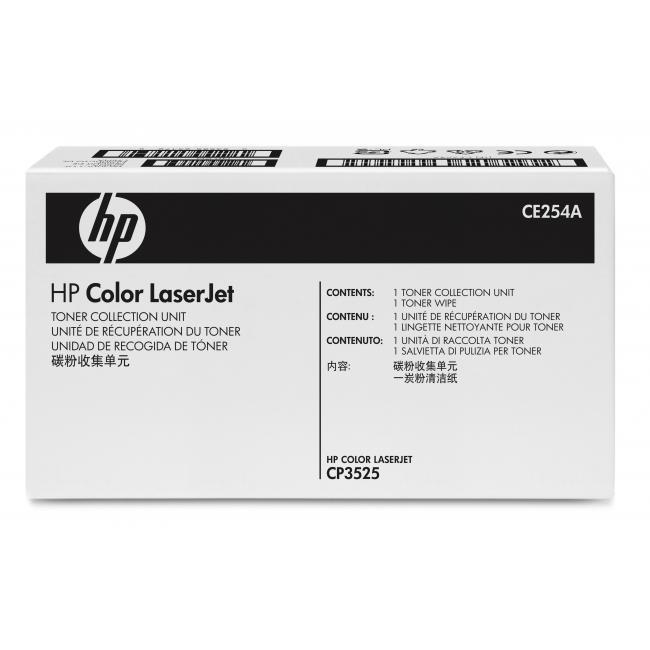 Hp Toner Collection unit CE254A (Genuine) 254 CP3525 3525