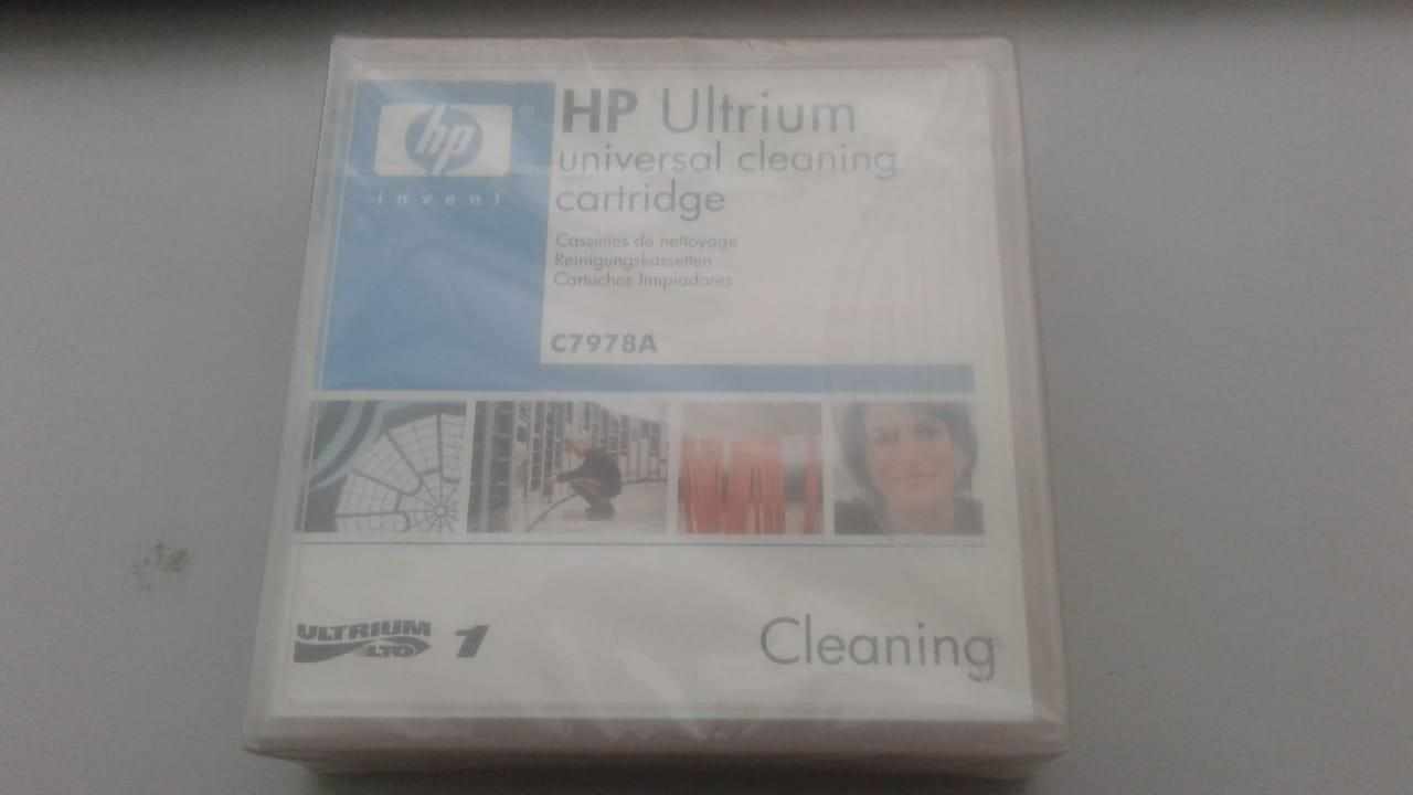 New HP Ultrium C7978A Universal Cleaning Cartridge