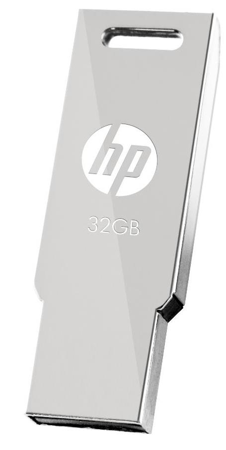 HP USB2.0 STAINLESS STEEL THUMB DRIVE V232W 32GB