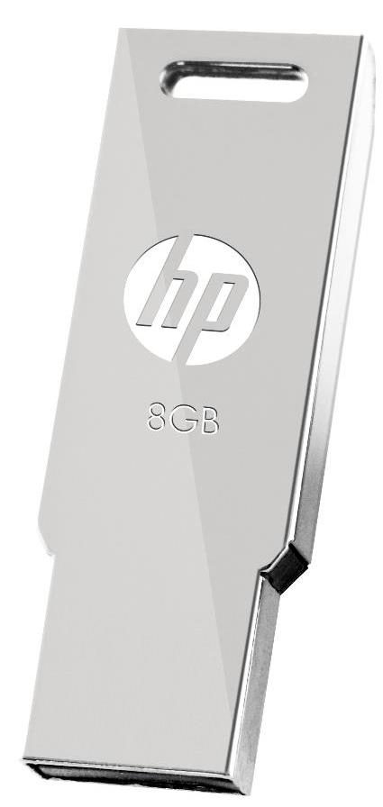 HP USB2.0 STAINLESS STEEL THUMB DRIVE V232W 8GB