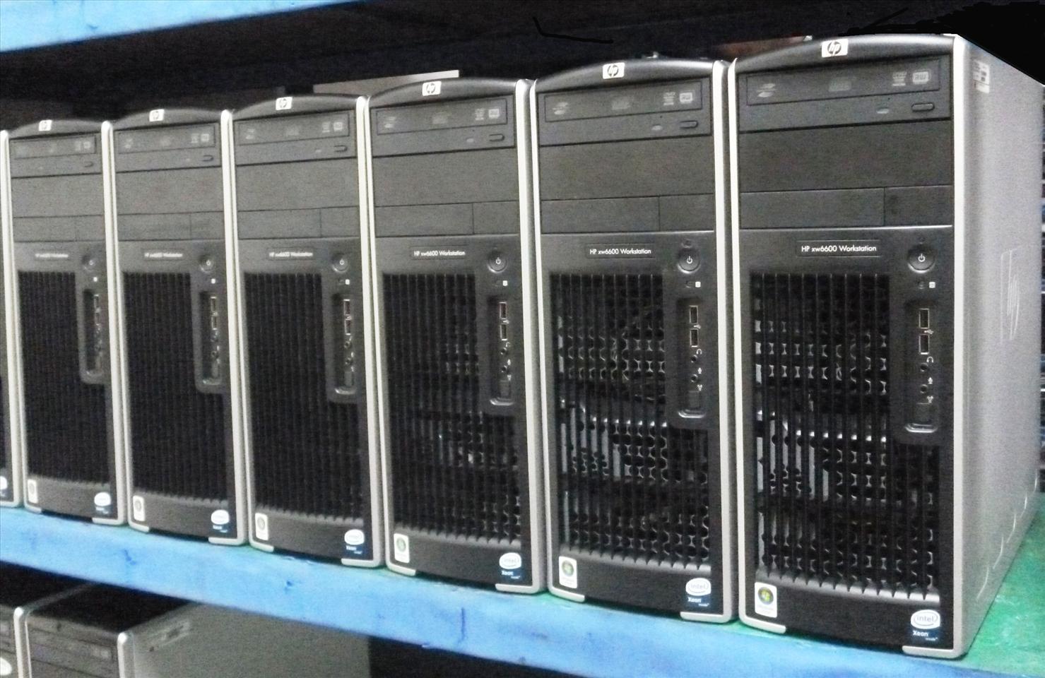HP WORKSTATION XW 6600