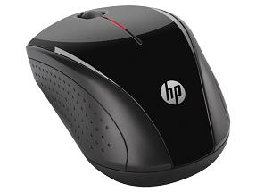 HP X3000 WIRELESS MINI MOUSE (H2C22AA) BLK