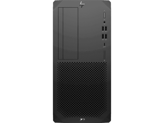 HP Z2 G5 i7-10700 Tower PC NVIDIA 16GB SSD 256GB 1TB HDD W10P 3YW