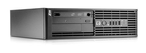 HP Z200 SFF Workstation core i3-540 3.06GHz 4GB DDR3 RAM 250GB HDD