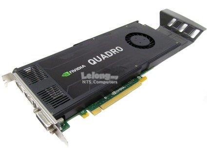 HP Z420 6Cres E5-1650 3 20Ghz, 16GB,2TB SATA,DVDRW,K4000 3GB,W10