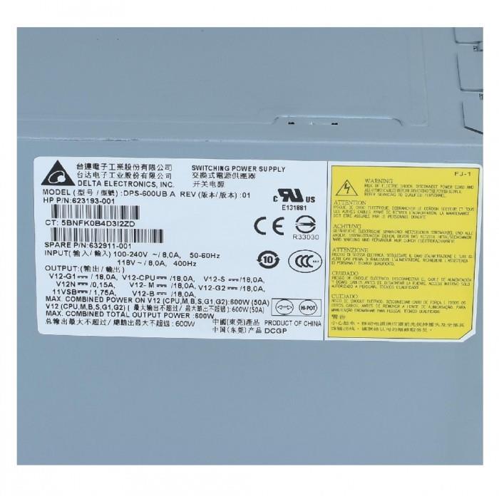 HP Z420 Workstation 400W Power Supply 632911-001 623193-001