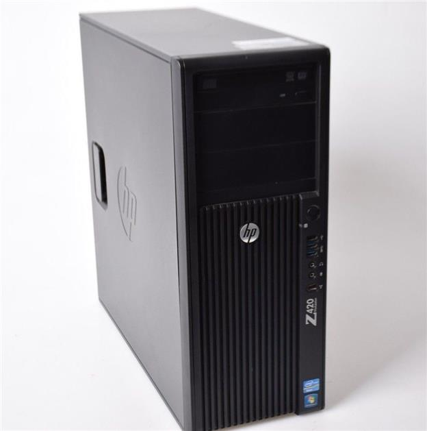 HP Z420 Workstation Xeon E5-1607 4Cores 16GB 320GB HDD Quadro k2000