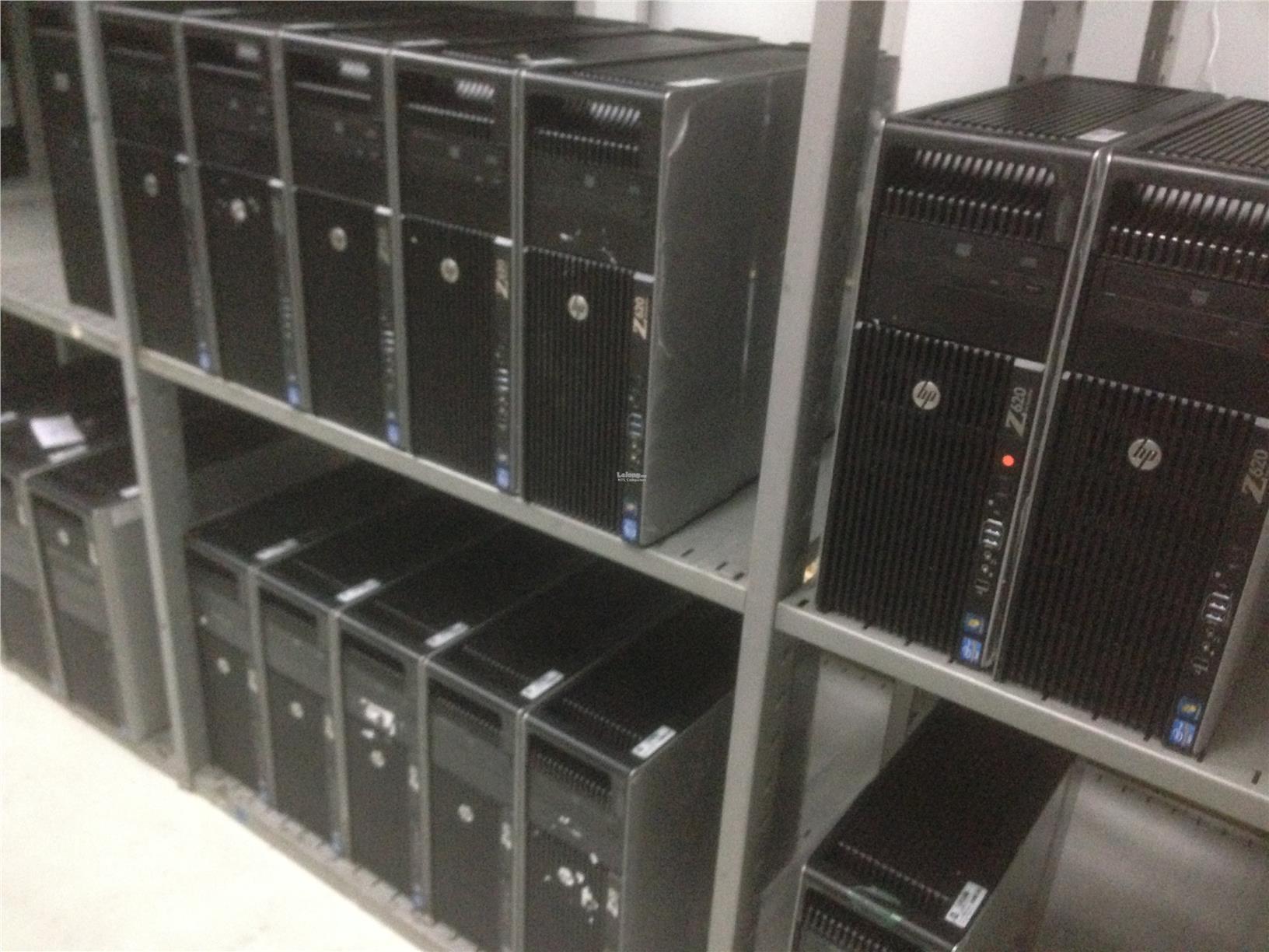 HP Z620 Workstation Empty Base Station v2, 2x Cooler, Dual cpu base