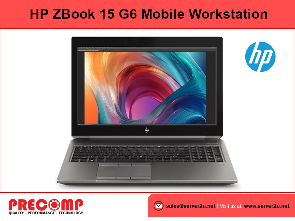 HP ZBook 15 G6 Mobile Workstation (i7-9750H.16GB.1TB) (3S170PA)