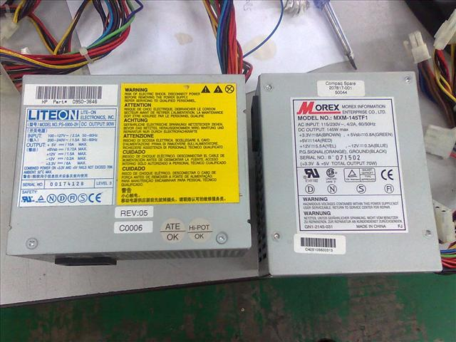 HP0950-3646 Compaq 207817-001 Power Supply 310111