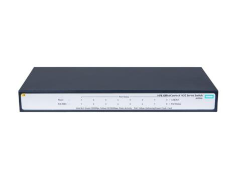 HPE 1420 8G PoE+ (64W) Switch (JH330A)