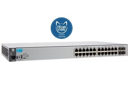 NEW HPE ARUBA 2530-24G SWITCH - LIFETIME WARRANTY (J9776A)