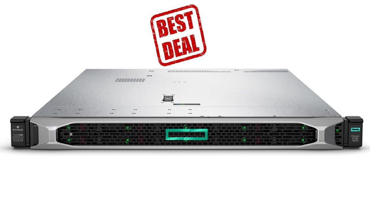HPE HP PROLIANT DL360 SERVER  Xeon 4210R P19766-B21 *FREE HP SPEAKER*