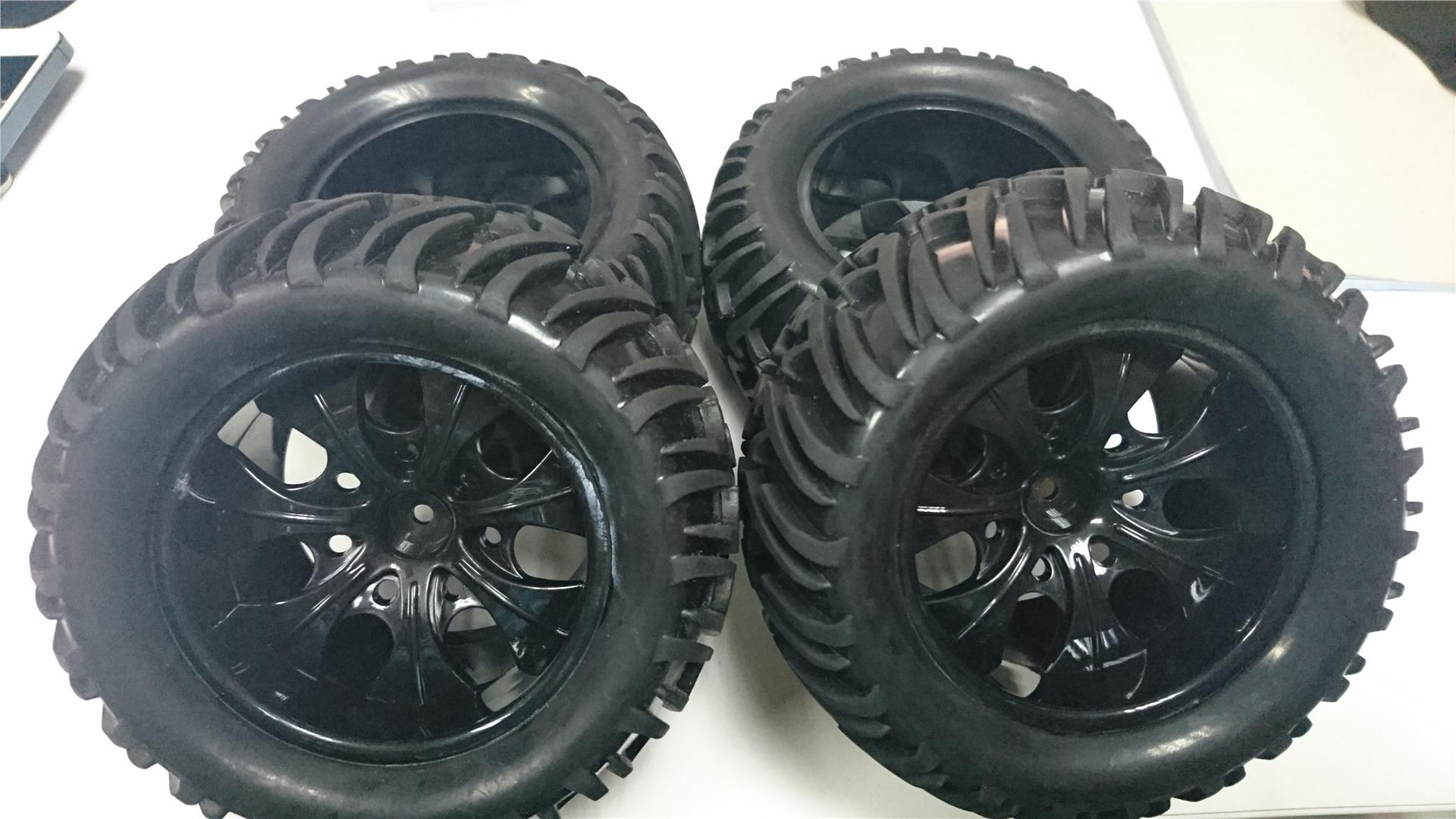 Hsp 1.10 Rc Monster truck Tyre Set