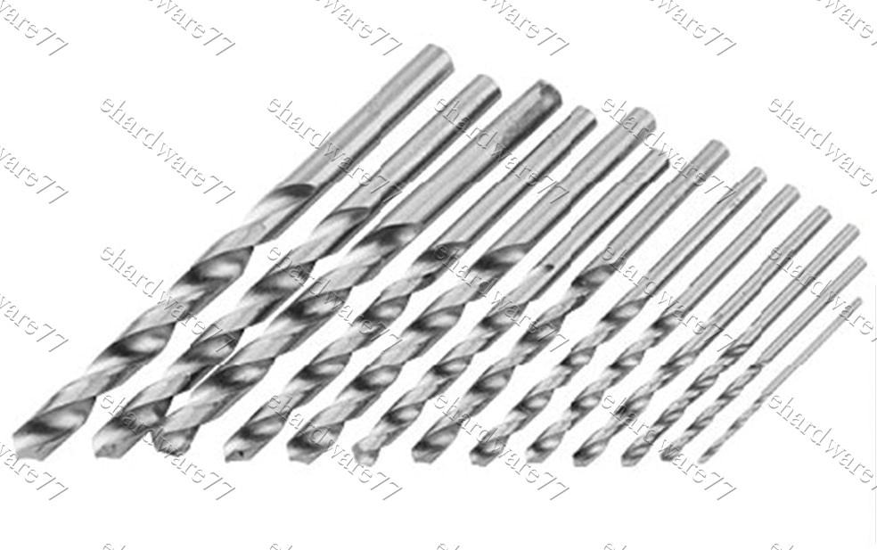 HSS Fully Ground Metal Drill Bits (5001) (Open Stock)