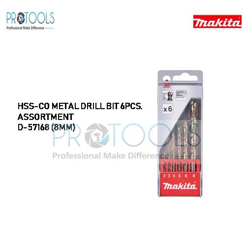 HSS-CO METAL DRILL BIT 6PCS. ASSORTMENT