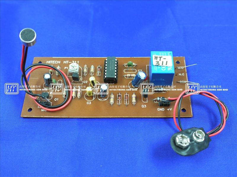 HT311 Sound Activated Switch  / Electronics Kit
